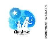 festive christmas vector...   Shutterstock .eps vector #526366471