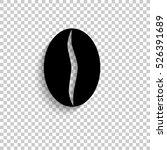 coffee beans   black vector ...   Shutterstock .eps vector #526391689