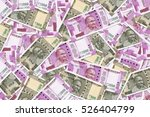 Small photo of New Indian Currency Rupees Five Hundred and Two Thousand