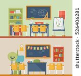 classroom for literature and... | Shutterstock .eps vector #526406281