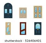 set of interior apartment doors