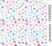 stars colorful doodle cartoon... | Shutterstock .eps vector #526409005