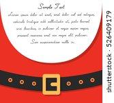 santa's message banner. vector... | Shutterstock .eps vector #526409179