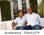 father and son laughing. | Shutterstock . vector #526411579