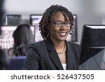 Young Black Female Professiona...