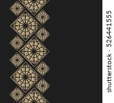 golden frame in oriental style. ...   Shutterstock .eps vector #526441555