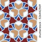 seamless pattern morrocan... | Shutterstock .eps vector #526442509
