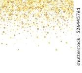 abstract pattern of random... | Shutterstock .eps vector #526445761