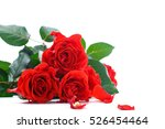 Stock photo beautiful red rose 526454464