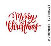 merry christmas vector text...   Shutterstock .eps vector #526455295