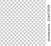 white seamless geometric... | Shutterstock .eps vector #526472029