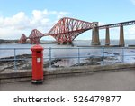 firth of forth rail bridge  ... | Shutterstock . vector #526479877