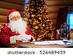 santa napping | Shutterstock . vector #526489459