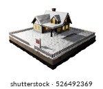Small Clapboard Siding House...