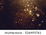 gold abstract bokeh background | Shutterstock . vector #526493761