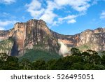 angel falls  canaima national... | Shutterstock . vector #526495051