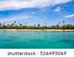 sailing around the san blas... | Shutterstock . vector #526495069