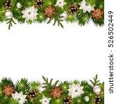vector christmas horizontal... | Shutterstock .eps vector #526502449