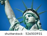 the statue of liberty  new york | Shutterstock . vector #526503931