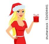 christmas illustration of... | Shutterstock .eps vector #526504441