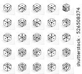 24 Dice In All Possible Turns...