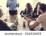 meeting table networking... | Shutterstock . vector #526510429