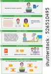 infographic template cartoon ... | Shutterstock .eps vector #526510495