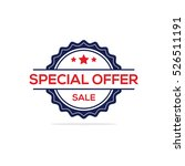 special offer stamp vector ... | Shutterstock .eps vector #526511191