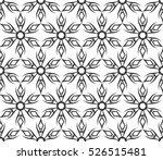 black and white ethnic  arabic  ... | Shutterstock .eps vector #526515481