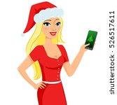 christmas illustration of... | Shutterstock .eps vector #526517611