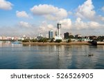 dar es salaam skyline  the... | Shutterstock . vector #526526905