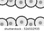 road and mountain bike wheels... | Shutterstock . vector #526532935