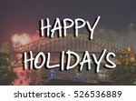 happy new year holiday sydney... | Shutterstock . vector #526536889