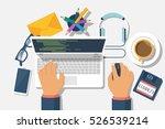 developer web concept.... | Shutterstock .eps vector #526539214