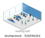 isometric flat 3d concept... | Shutterstock . vector #526546261