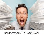 emotional stress. | Shutterstock . vector #526546621