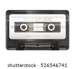 realistic audio cassette... | Shutterstock .eps vector #526546741