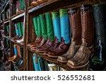 boot rack | Shutterstock . vector #526552681