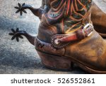 boots and spurs | Shutterstock . vector #526552861
