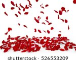 rose petals fall to the floor.... | Shutterstock . vector #526553209