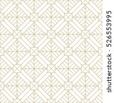 geometric gold pattern.... | Shutterstock .eps vector #526553995