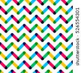 modern seamless pattern.... | Shutterstock .eps vector #526554301