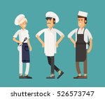 cool vector flat design...   Shutterstock .eps vector #526573747