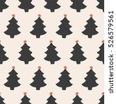 seamless pattern  christmas... | Shutterstock .eps vector #526579561