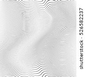 wave stripe background   simple ... | Shutterstock .eps vector #526582237