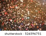 blurred crowd of people in... | Shutterstock . vector #526596751