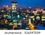 abstract blur bokeh city of... | Shutterstock . vector #526597039