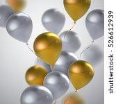 vector festive illustration of... | Shutterstock .eps vector #526612939