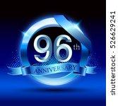 celebrating 96 years... | Shutterstock .eps vector #526629241