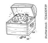treasure chest | Shutterstock .eps vector #526630939